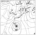 18時の天気図