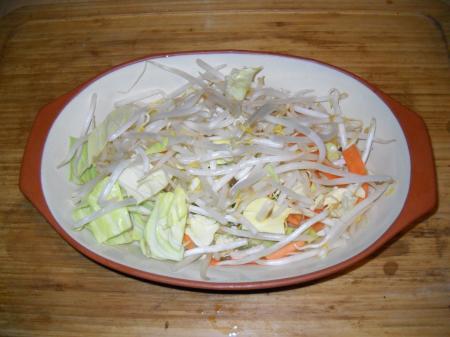 肉 野菜炒め レンジ_20140219194831