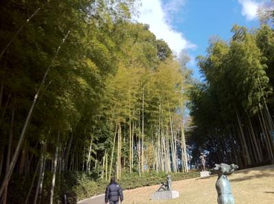 日動美術館庭園