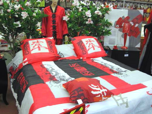 中華風ベッド