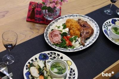 家でのクリスマスディナー