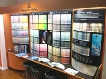 ベンジャミンムーアペイント福岡店のスタッフブログのブログ-カラーディスプレイ