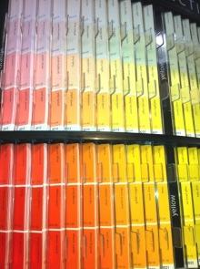 ベンジャミンムーアペイント福岡店のスタッフブログのブログ-カラーサンプル
