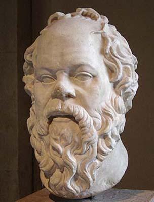 ソクラテス胸像