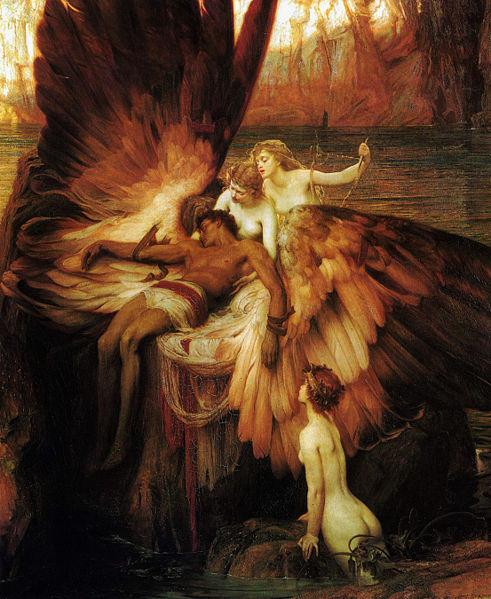 『イカロスへの哀悼』ハーバード・ドレイパー