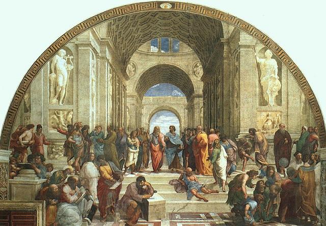ラファエロ・サンティ『アテナイの学堂』
