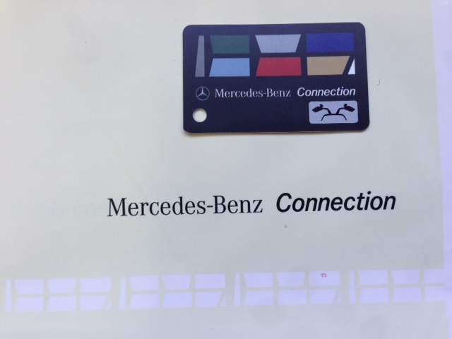 Mercedes-Benz Connection Card