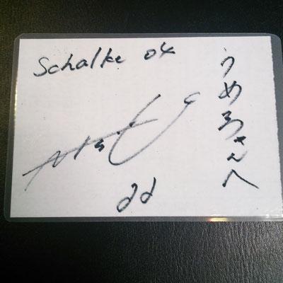 内田選手サインs