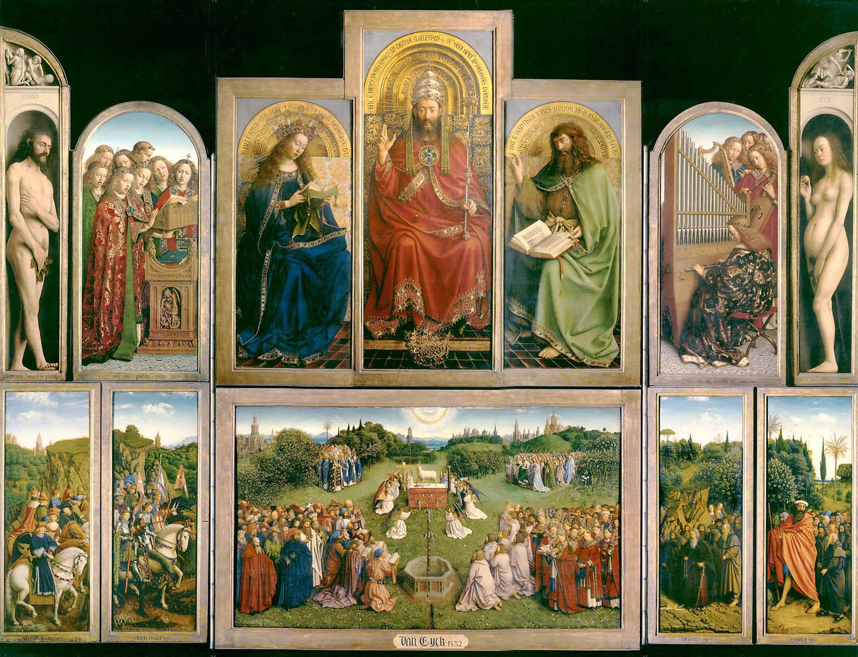 ヴァン・エイク兄弟の祭壇画
