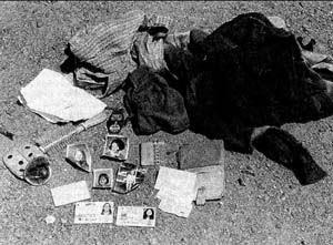 ケンパーが「記念」に持っていた犠牲者の遺留品