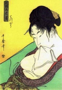 喜多川歌麿画