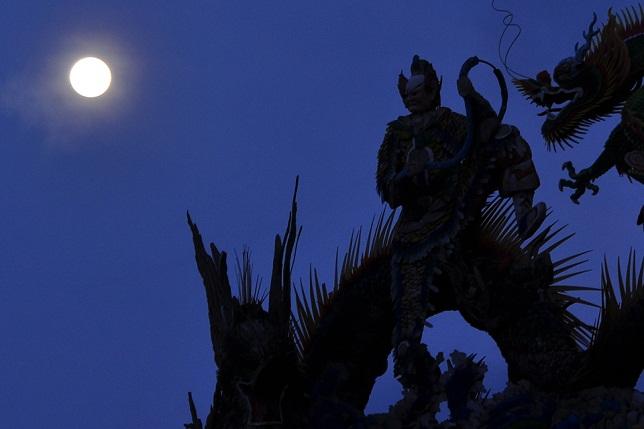 碧山巖の夜明け(1)