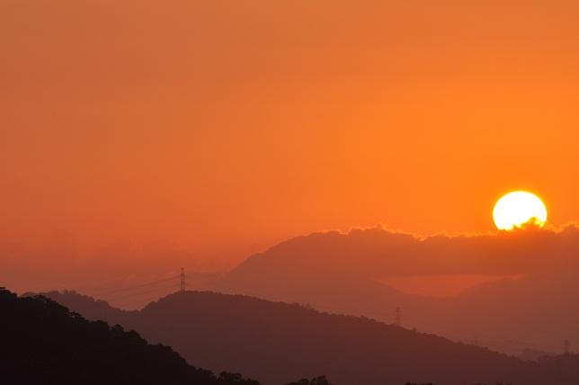 碧山嚴の朝(2)