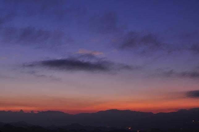 碧山嚴の朝(1)