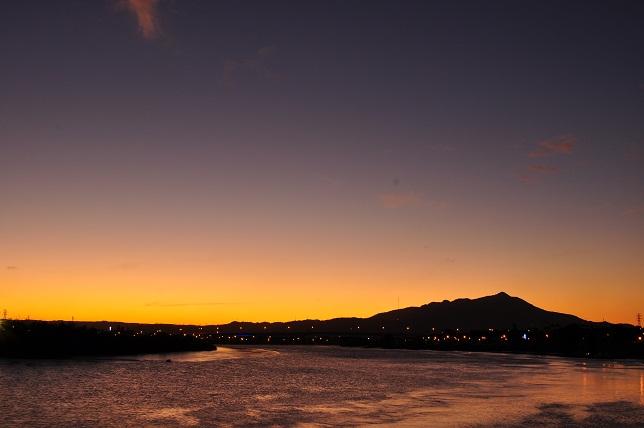 百齡橋の夕暮れ(4)