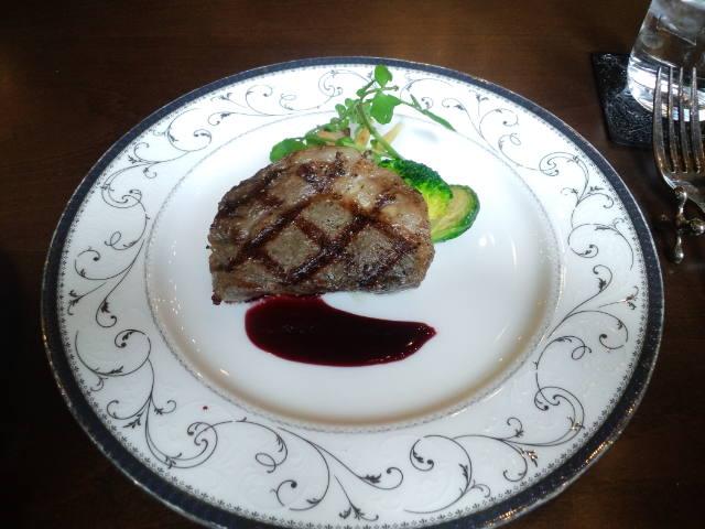 近江牛ロースステーキ