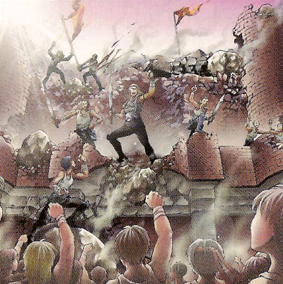 王宮の陥落