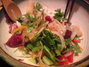 玉ネギ納豆サラダ