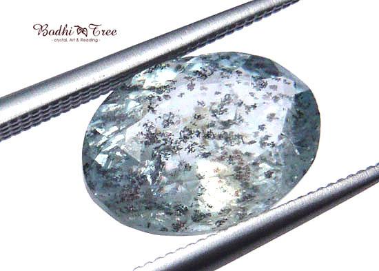 インクルージョンinアクアマリン ルース-a 3月誕生石 天然石 パワーストーン5