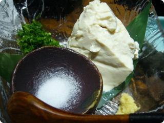 なかなか 仙波豆腐