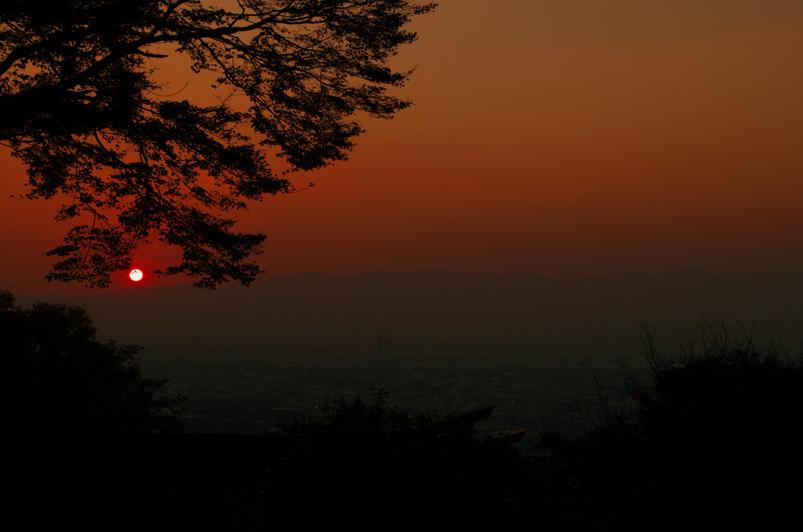 稲荷山夕景1min
