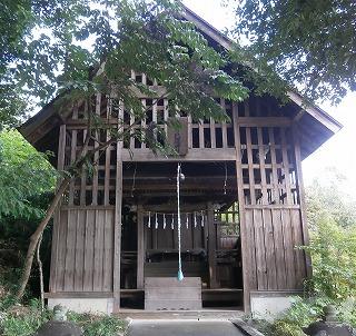 中氷川旧本殿