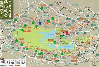 中氷川神社地図