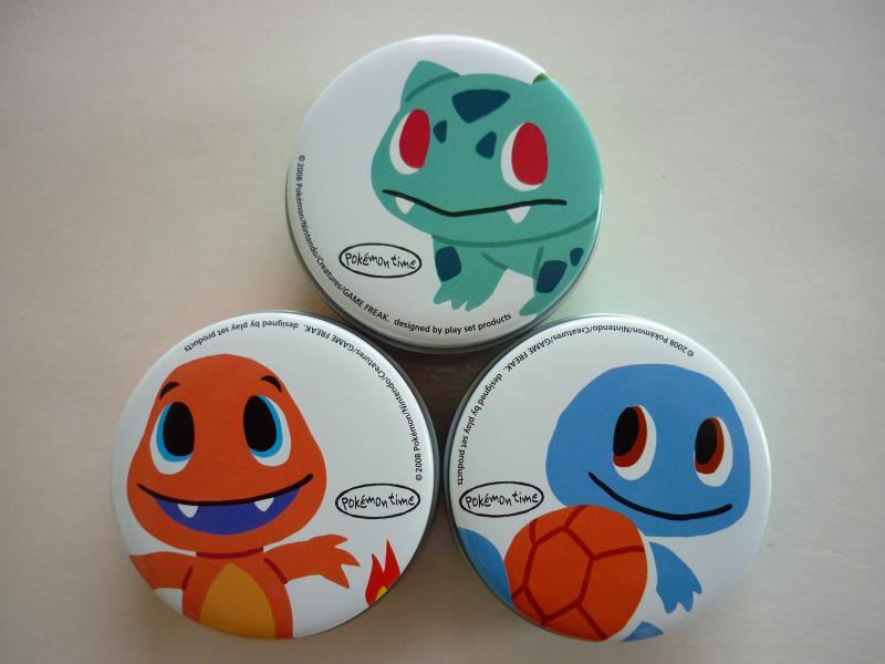 キャンディー缶セット pokemon time