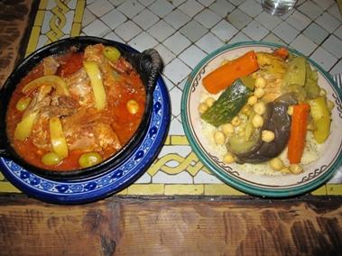 dinner at Casa Hassan