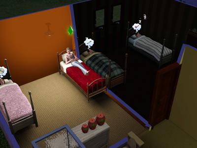 9日目ベッド
