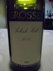 Polish Hill Riesling 2010