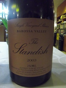 Standish Shiraz 2003