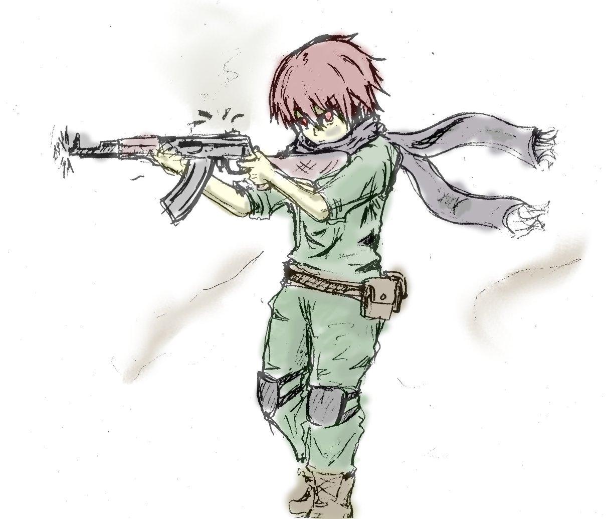 ゲリラ少年兵