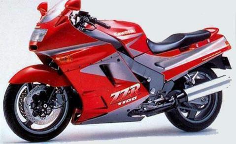 Kawasaki ZZR1100 90