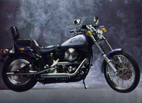 harley FXSTC 1340 Softail Cus 86