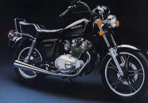 Suzuki GS 450L 82