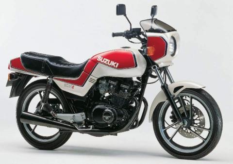 Suzuki GSX 250 E 83