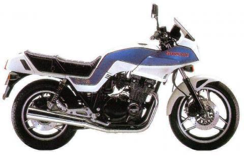 Suzuki GSX 1100ES 83 1