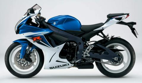 Suzuki GSXR600 11 5