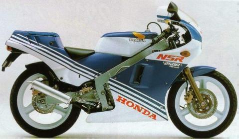 Honda NSR250R 87 1