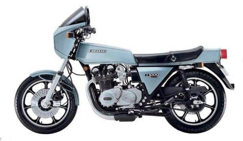 Kawasaki Z1R 4