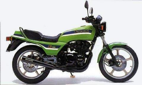 Kawasaki Z400GP 82
