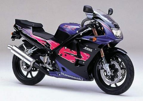 Kawasaki ZXR250R 91