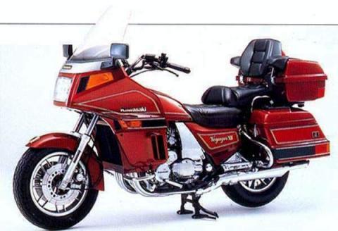 Kawasaki ZG1200 XII 86