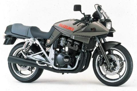Suzuki GSX 400 S Katana 1992