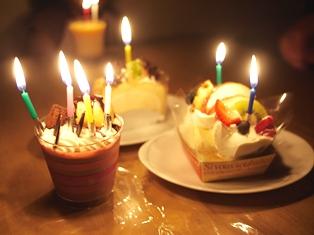 誕生ケーキ 110912