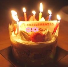 誕生ケーキ2 修正 110914