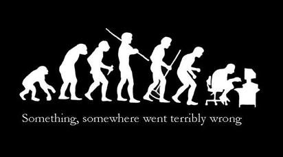 ironic evolution