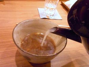 11-8-26 蕎麦湯