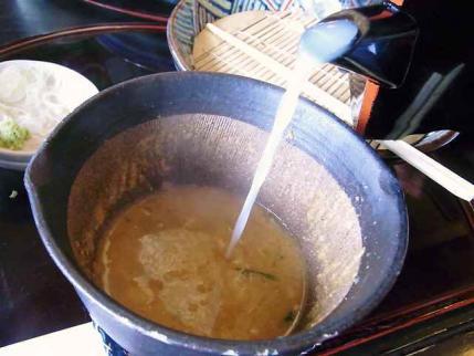 11-8-28 蕎麦湯